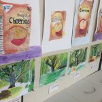 Exhibition of children's art work